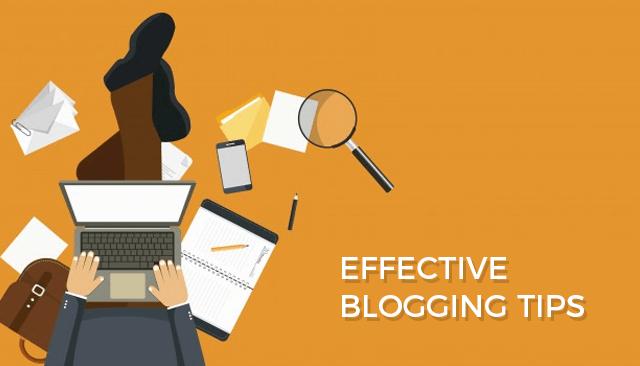 Effective Blogging